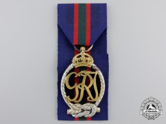 A Royal Naval Volunteer Reserve Decoration; George VI