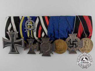 A First & Second War German Medal Bar