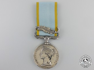 A 1854-56 Crimea Medal to the 82nd Regiment