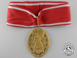 A Yugoslavian Order of Hero by IKOM Zagreb