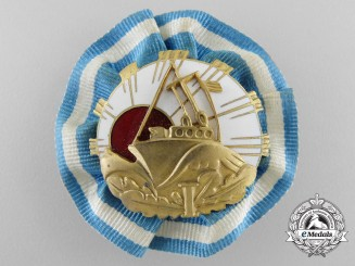A Rare Pre Second War Estonian Submarine Fleet Badge c.1935