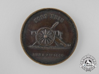 A County of Welland Fenian Raids Battle of Fort Erie 1866 Medal