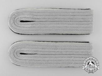 A Set of  Waffen-SS Infantry Untersturmführer's Shoulder Boards