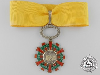 A 1921-37 Ecuadorian Order of Merit;Third Class Commanders Cross