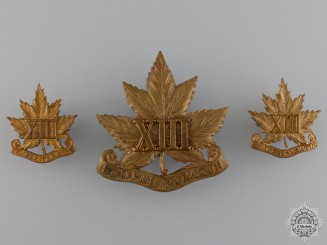 A 13th Royal Hamilton Regiment Set