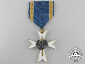 An Estonian White Cross of the Home Guard; 3rd Class