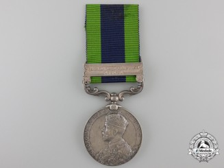 An India General Service Medal 1908-1935 to the 153rd Punjabis