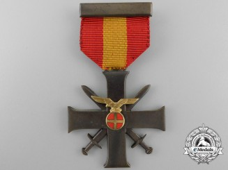 A 1940-45 Norwegian Merit Cross with Swords; Second Class Cross