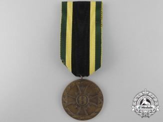 A Saxe-Meiningen First War Service Medal 1915-18