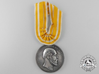 A Mecklenburg First War Silver Merit Medal 1872-1918
