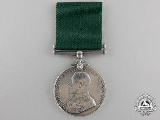 A Colonial Auxiliary Forces Long Service Medal to the Royal Grenadiers