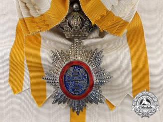 A Royal Order of Cambodia; Grand Cross Badge