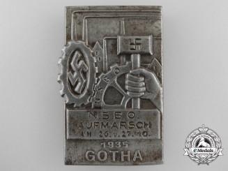 A 1935 NSBO (National-Socialistiche Betreibs Organisation) Deployment at Gotha Tinnie