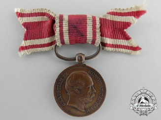 A Danish Miniature War of 1864 Campaign Medal