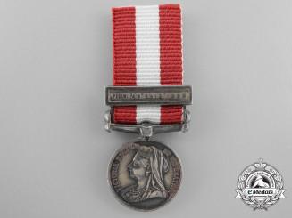 A Fine Miniature Canada General Service Campaign Medal