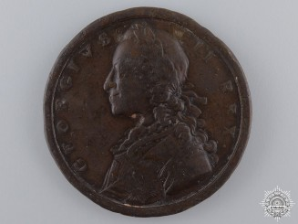 A 1758 George II British Military Victories Medal