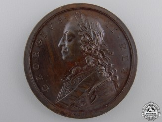 United Kingdom. A 1759 Seven Years' War Campaign Medal