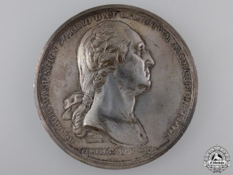 A 1776 Washington Before Boston Commemorative Table Medal