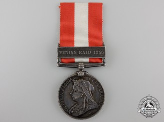 A Canada General Service Medal to the 1st Kincardine Infantry Company