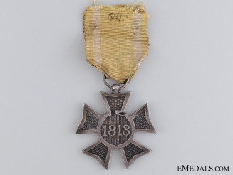 A 1813-1815 Dutch Silver Cross