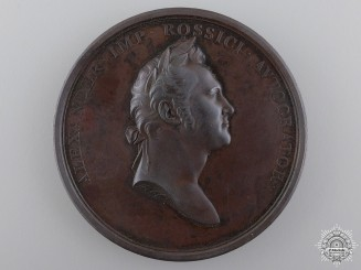 An 1814 Visit of Czar Alexander I to Britain Medal