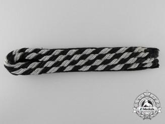 An Allgemeine-SS EM/NCO'S Shoulder Board/Strap (SS-Achselstücke)