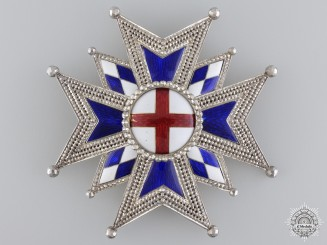 A 1860 Military House Order of St. George; Grand Cross Star
