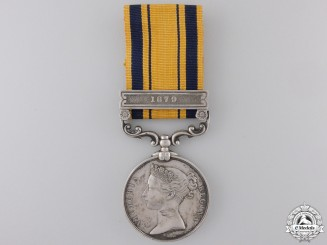 A 1877-79 South Africa Medal to the  6th Brigade, Royal ArtilleryCon #41