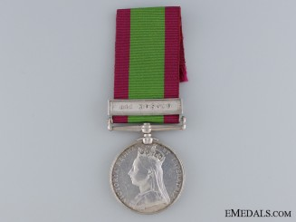 A 1878-80 Afghanistan Medal to the 9th Lancers