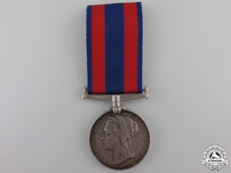 A 1885 North West Canada Medal to the 65th Battalion