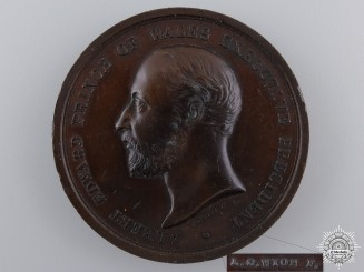 A 1886 British Colonial and Indian Exhibition Prize Medal by L.C.Wyon