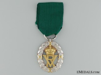 A 1892 Volunteer Officer's Decoration