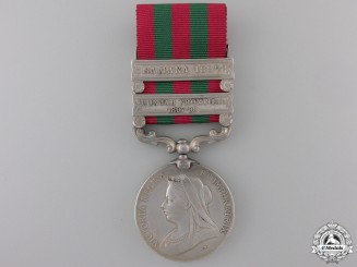 A 1895-1902 India Medal to the 2nd Punjab Regiment Con#41
