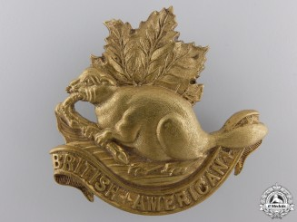 United Kingdom. A 1901-1908 British-American Squadron of the King's Colonials Badge