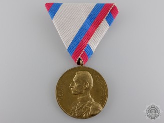 A 1903 Peter I Coronation Medal