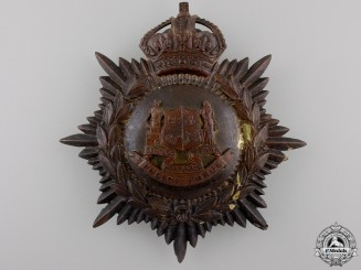 A 1910 City of Ottawa Helmet Plate