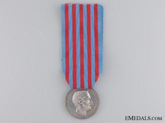A 1911-1912 Italo-Turkish War Medal  by L.Giorgi