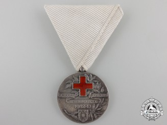 Serbia, Kingdom. A 1912-13 Red Cross Medal
