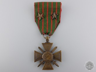 A First War 1914-18 French War Cross