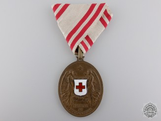 A 1914 Austrian Red Cross Medal