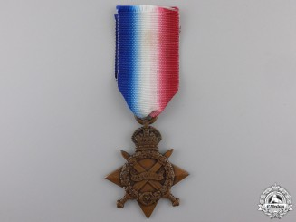 A 1914-15 Campaign Star to the Argyll & Sutherland Highlanders