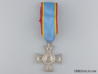 A 1914 Mecklenburg Strelitz Bravery Cross; Second Class