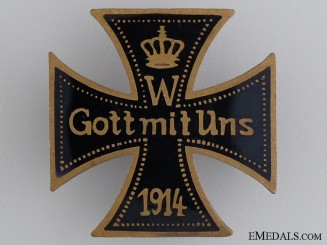 A 1914 Patriotic Iron Cross