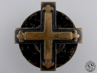 A 1914 Screwback Baltic Cross; First Class