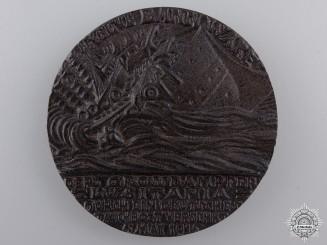 A 1915 RMS Lusitania Propaganda Medal