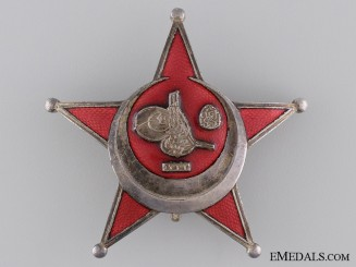 1915 Turkish Campaign Star; Iron Crescent