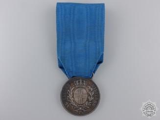 A 1916 Italian Al Valore Militaire; Silver Grade to Bernardo Ovaldo