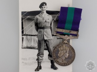 A 1918-1926 General Service Medal to the East Yorkshire Regiment