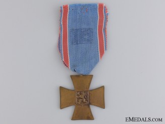 A 1918-19 Czech Volunteer Cross