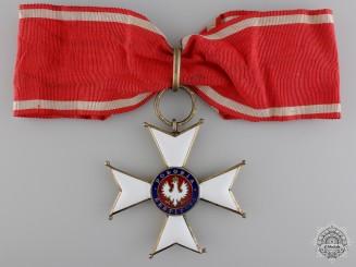 Poland. An Order of Polonia Restituta; Commander's Cross
